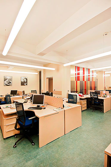 интериорен дизайн и декорация на офис