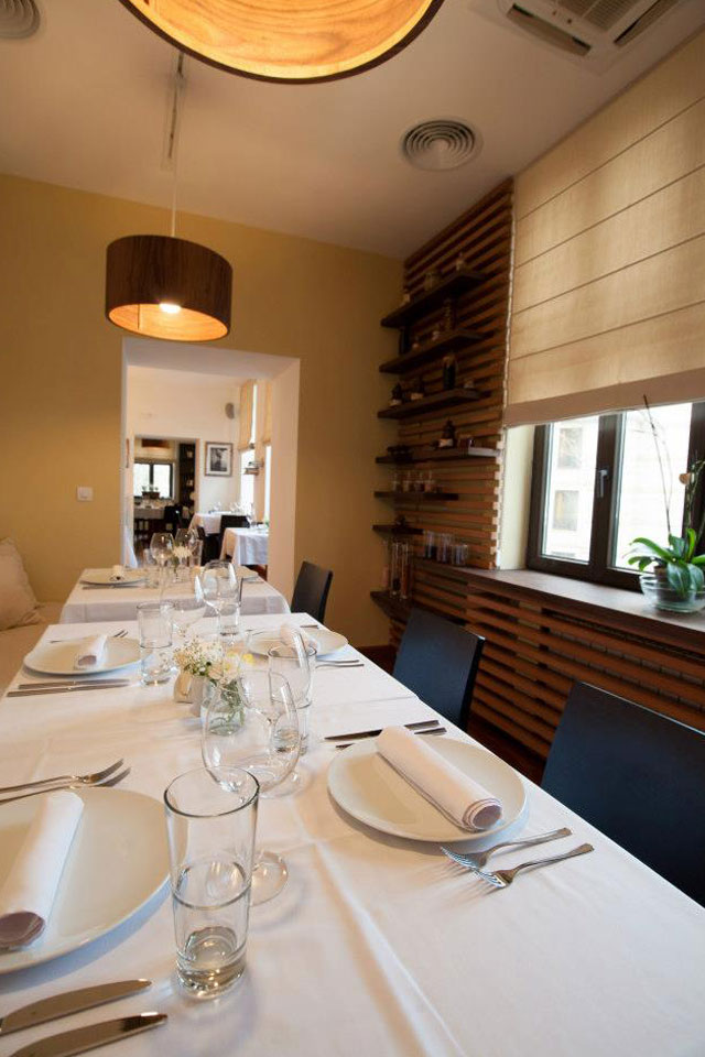 интериорен дизайн на ресторант
